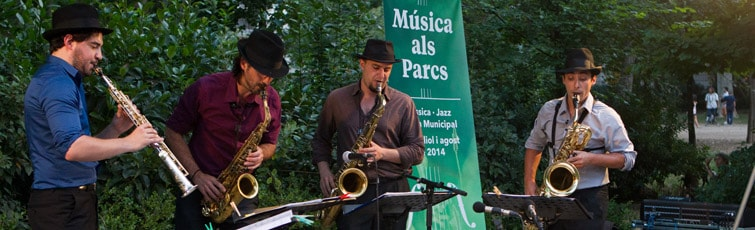Barcelona Events-and Fun - Music in the parks